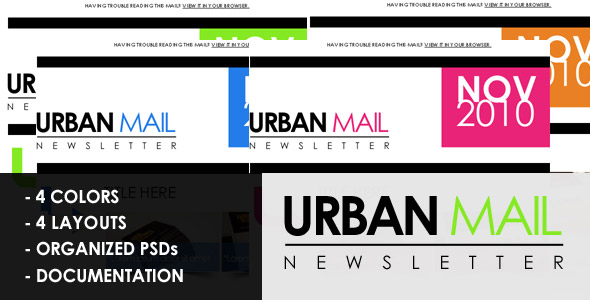 Urbanmail beautiful email template