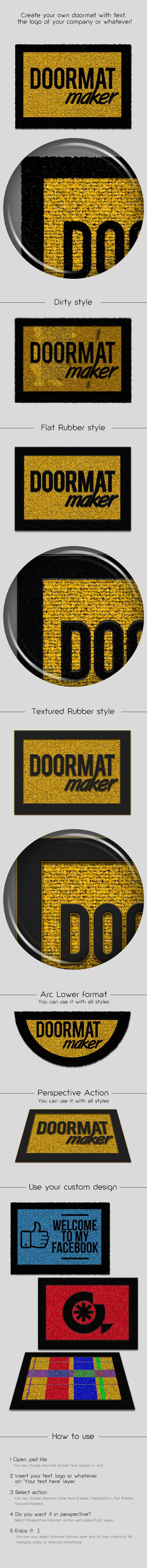 Doormat Maker