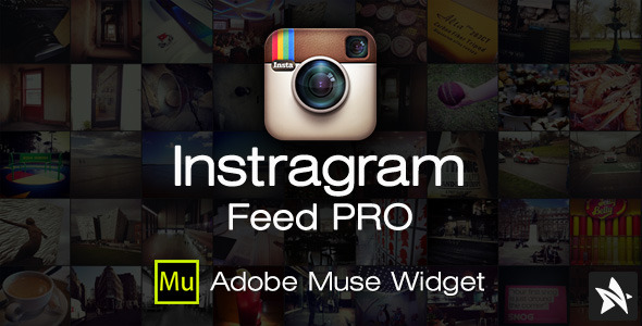 Instagram Feed Pro Widget for Adobe Muse (Muse Widgets