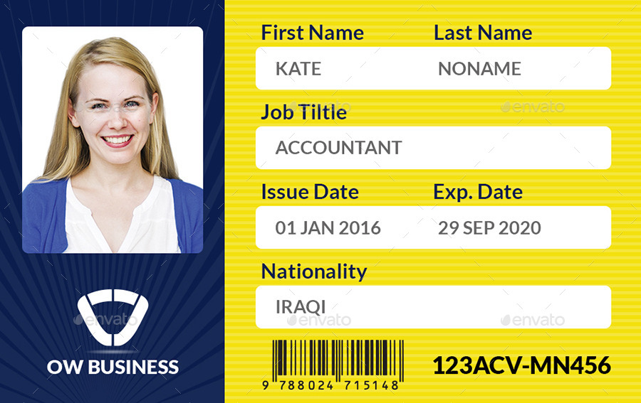 Multipurpose Business ID Card Template Vol 2 by OW