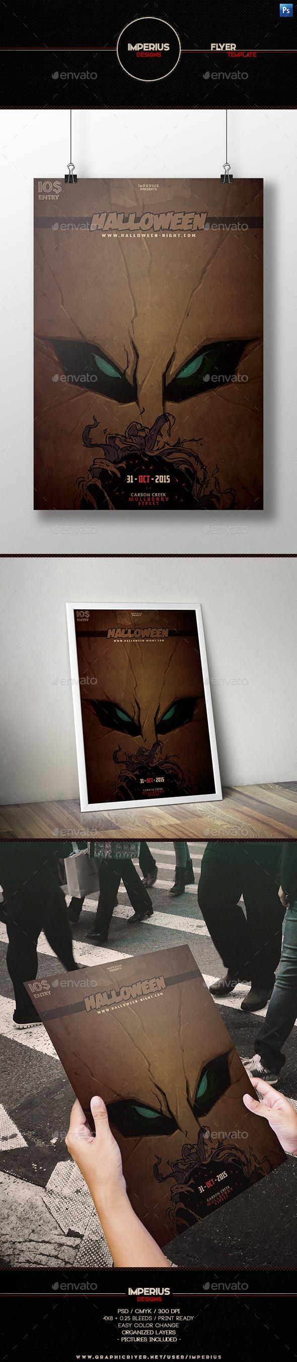 Halloween V6 Flyer