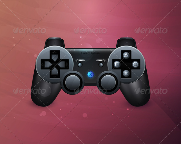 GraphicRiver Joystick with buttons 158879