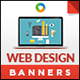 HTML5 Web Design Banners - GWD - 7 Sizes