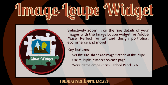 Image Loupe Widget for Adobe Muse