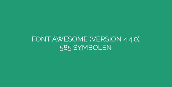 CodeCanyon Font Awesome 13196729