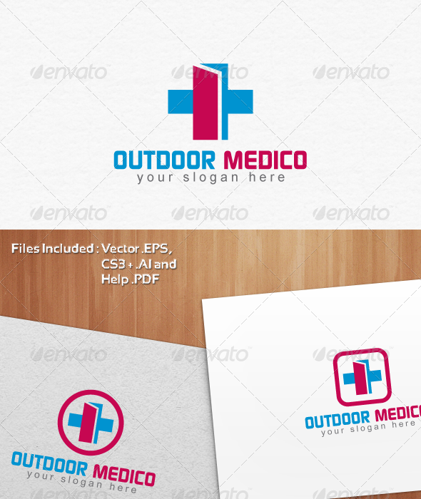 Outdoor Medico Logo Template Design