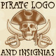 Pirate Vector Logos and Insignia