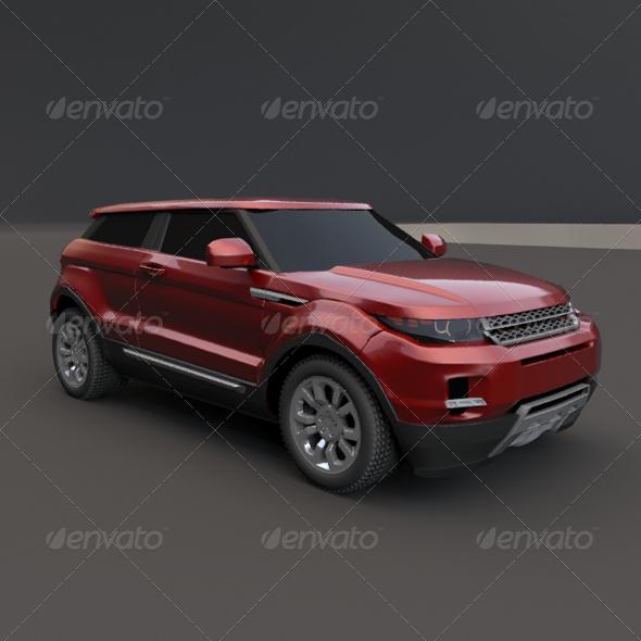 3DOcean Range Rover 2011 159045