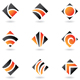 abstract diamond shapes - GraphicRiver Item for Sale
