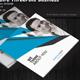Square Business Three Fold Brochure