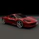 Ferrari 458 restyled
