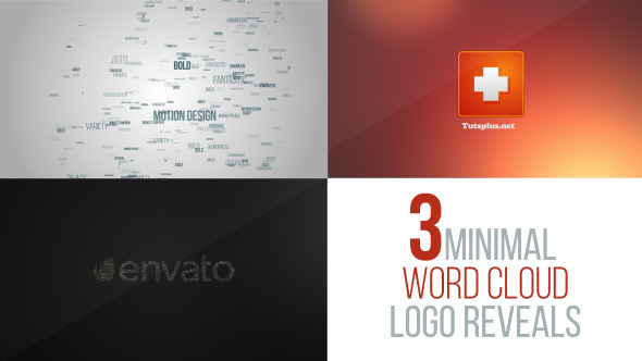 Download Word Cloud Logo Reveal Pack nulled download