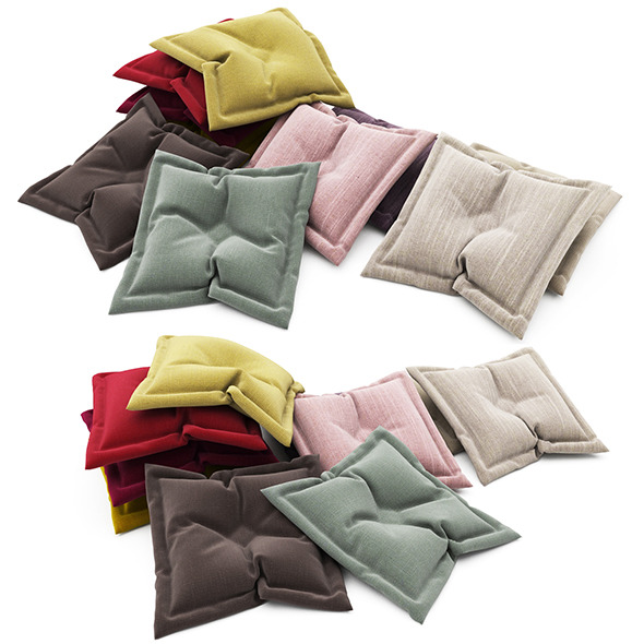 Pillows collection 87 - 3DOcean Item for Sale