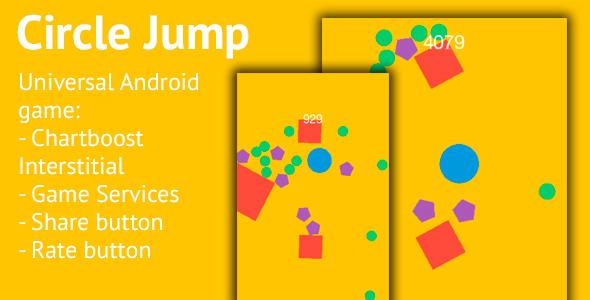 CodeCanyon Circle Jump Android Universal Game 13253596