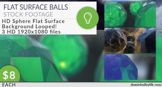 Flat Surface Balls