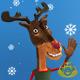 Christmas Reindeer Greetings