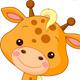 Fun zoo. Giraffe - GraphicRiver Item for Sale