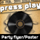 Party/Club/Concert Flyer and Poster - GraphicRiver Item for Sale