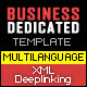 MultiLanguage XML DeepLinking Website Template - ActiveDen Item for Sale