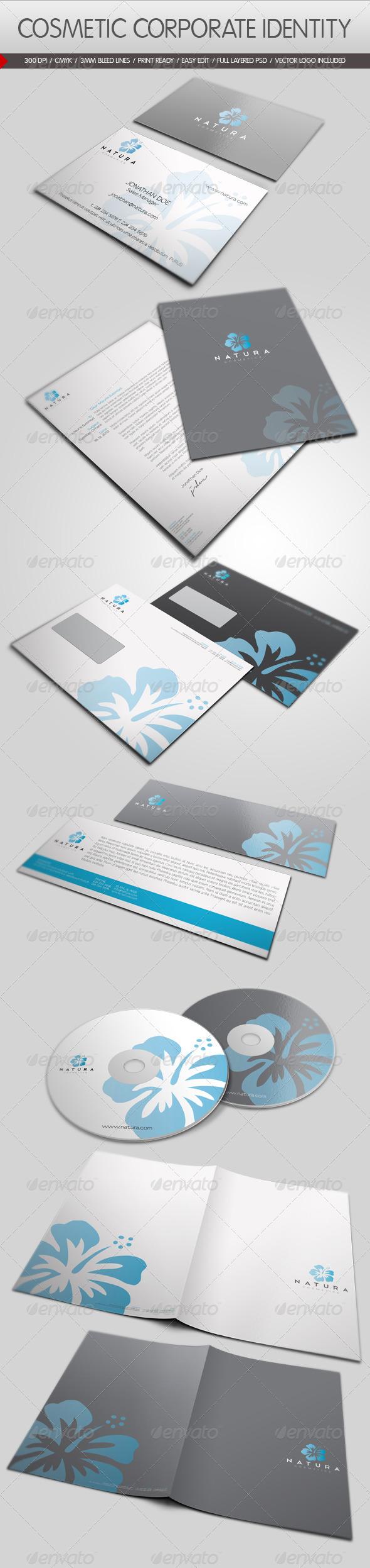 GraphicRiver Cosmetic Corporate Identity 1328973