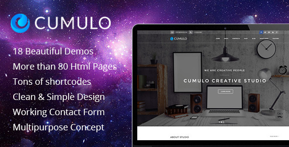 Cumulo - Multipurpose HTML Theme