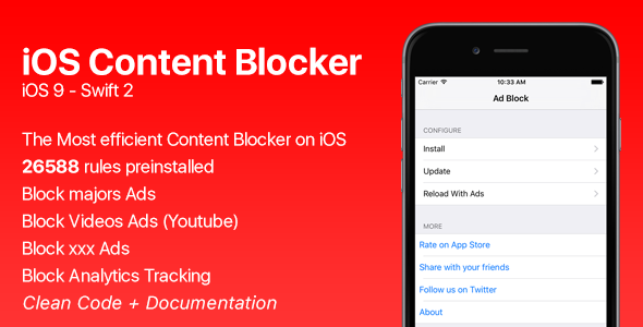 iOS Content Blocker - CodeCanyon Item for Sale