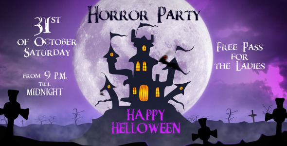 happy halloween party nulled download