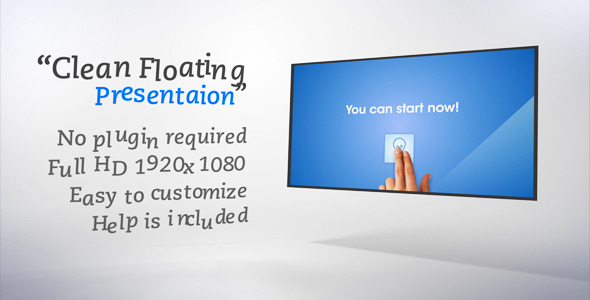 After Effects Project - VideoHive Clean Floating Presentation 1329692
