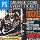 Grunge Core Concert Event Tickets