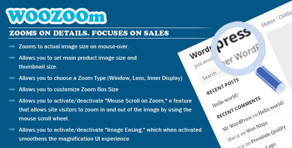 WOOZOOm PRO – Zooms On Details. Focuses on Sales