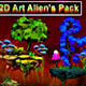 2D Alien's Art Pack