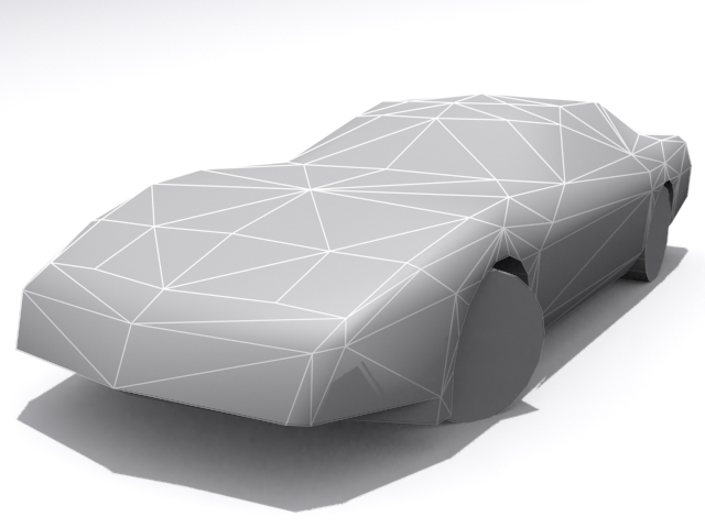 Chevrolet Corvette - Base - 3DOcean Item for Sale