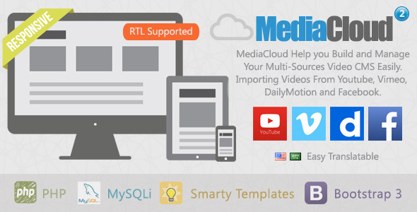 Download MediaCloud - Video Aggregator CMS nulled download