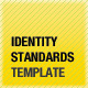 Identity Standards Guide Template - GraphicRiver Item for Sale