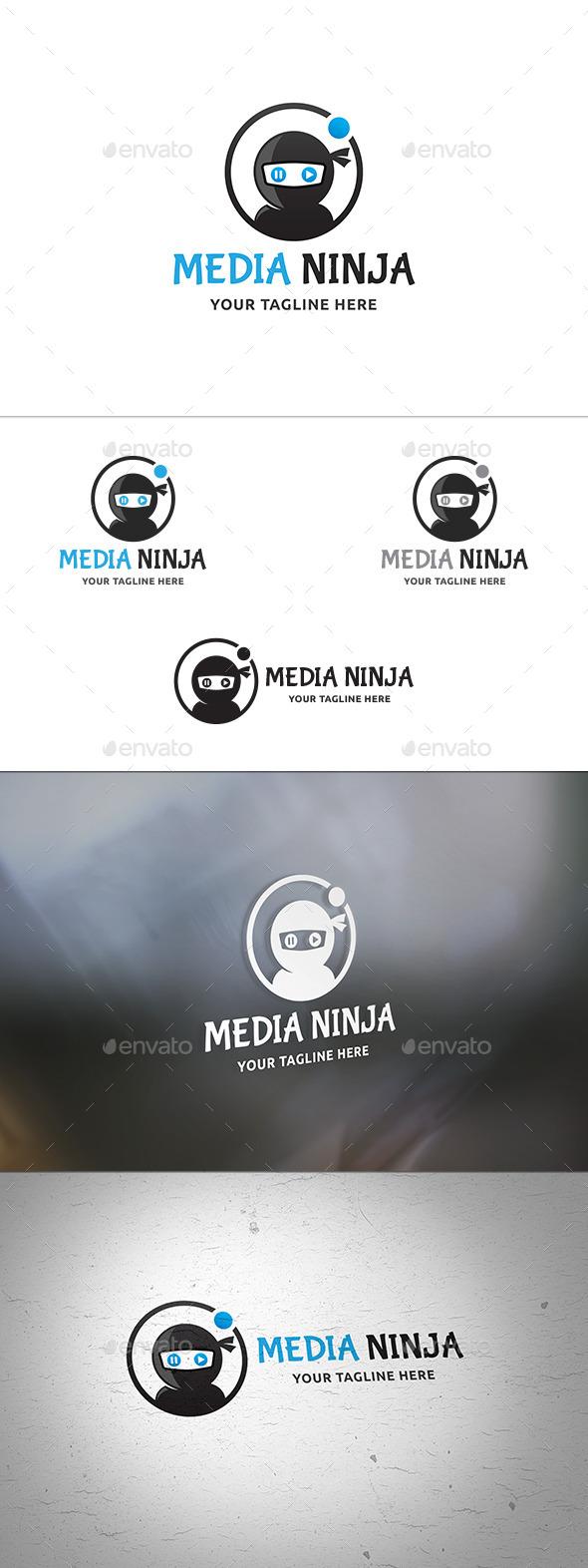 Media Ninja Logo