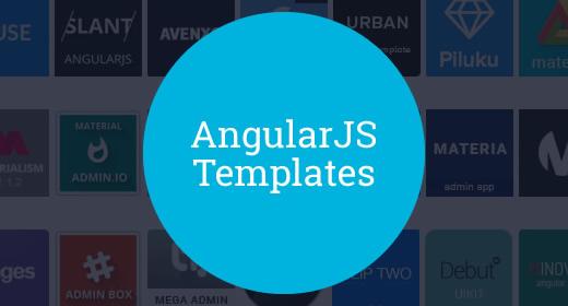 20+ AngularJS Admin Templates