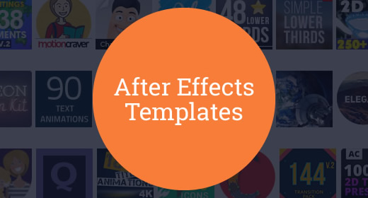 20 After Effects Templates