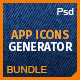 Icons Bundle: App Icons Generator 3 in 1