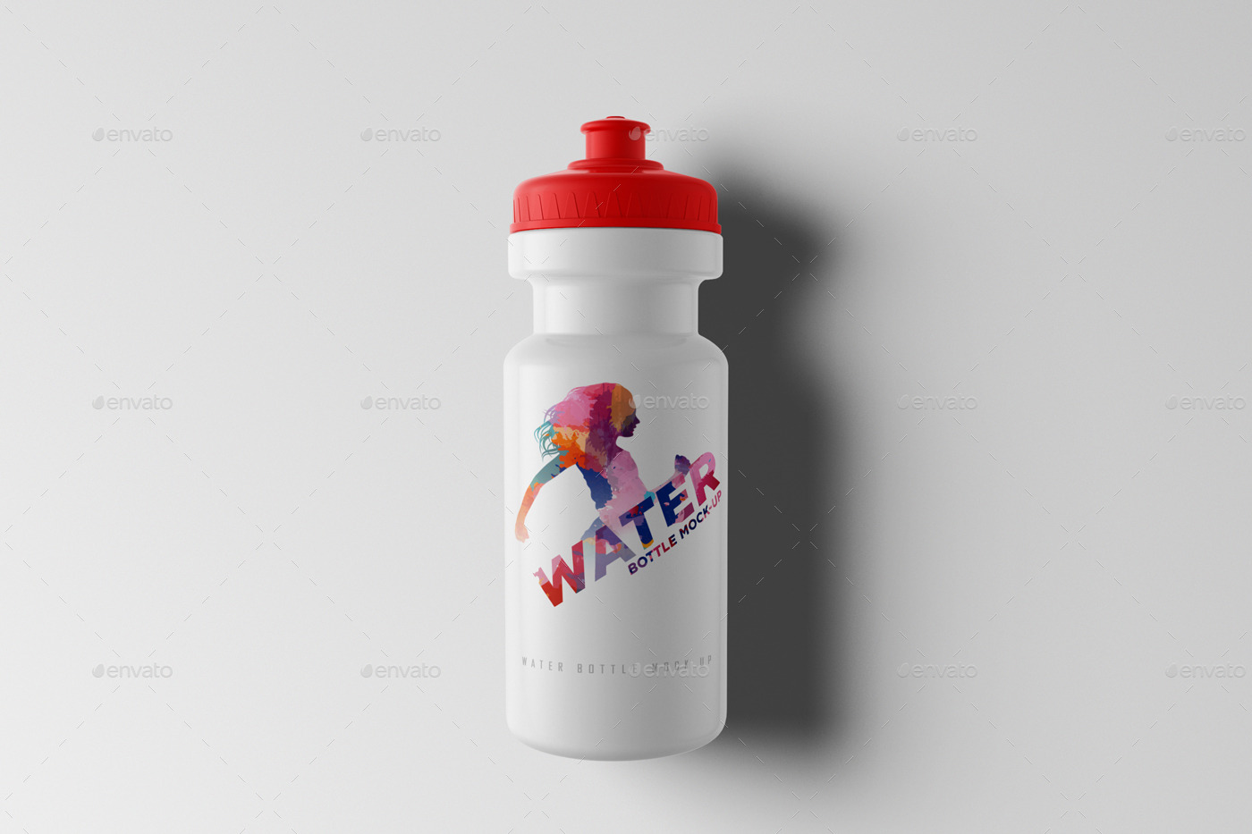 Water Bottle Mock-Up by AlkDesign | GraphicRiver