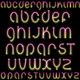 Shiny Neon Font - GraphicRiver Item for Sale