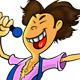 Singer Mascot - GraphicRiver Item for Sale