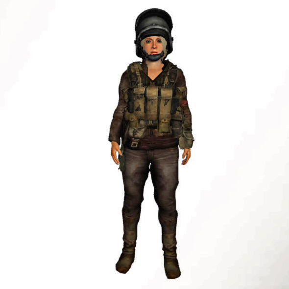 Survival Woman Mega Equipment Pack (67 clothes