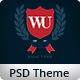 Western University | Educational PSD Theme