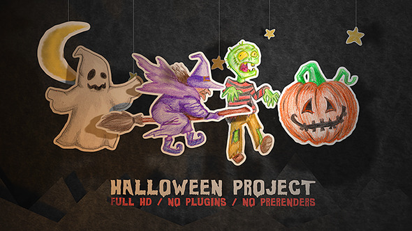 Download Halloween Paper Project nulled download