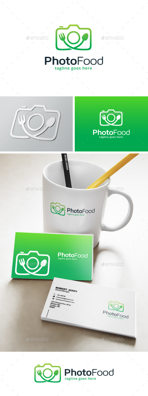 Photo Food Logo