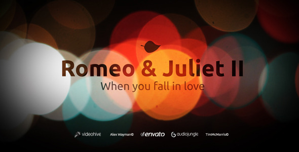 After Effects Project - VideoHive Romeo & Juliet II When you fall in love 1332016