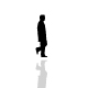 Man Walking Silhouette - ActiveDen Item for Sale