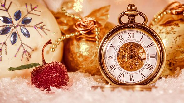 Christmas Pocket Watch