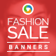 HTML5 Fashion Sale Banners - GWD - 7 Sizes