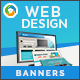 HTML5 Design Agency Banners - GWD - 7 Sizes